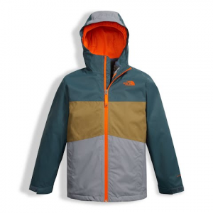 The North Face Youth Boy ' S Chimborazo Triclimate Jacket - Mid Grey