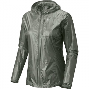 Mountain Hardwear Women ' S Ghost Lite Jacket - Green Fade