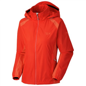 Mountain Hardwear Women ' S Windrush Jacket - Poppy