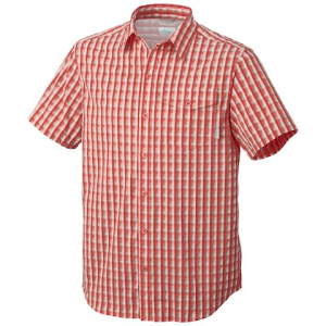 Columbia Men ' S Utilizer Short Sleeve Shirt - Cedar