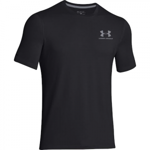 Under Armour Men ' S Ua Charged Cotton Sportstyle Short Sleeve T - Shirt - Black
