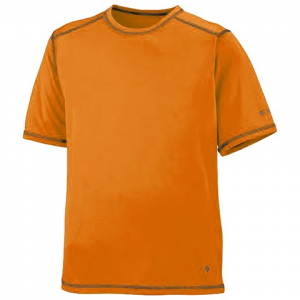 Columbia Youth Boy ' S Silver Ridge Tee - Heatwave
