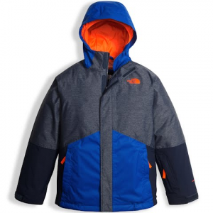 The North Face Youth Boy ' S Boundary Triclimate Jacket - Cosmic Blue Heather