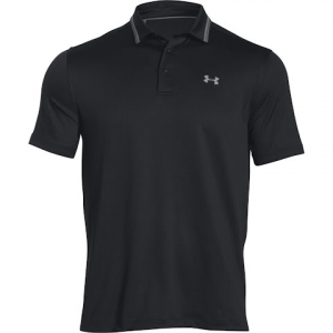 Under Armour Men ' S Coldblack Address Golf Polo Shirt - Black