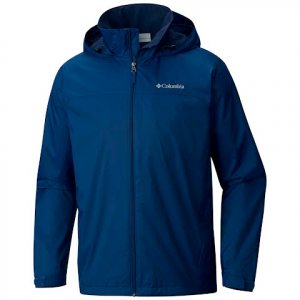 Columbia Men ' S Glennaker Lake Lined Rain Jacket ( Tall Extended Sizes ) - Carbon