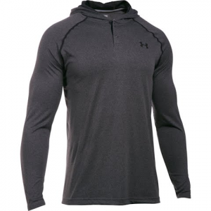 Under Armour Men ' S Tech Popover - Carbon Heather / Black