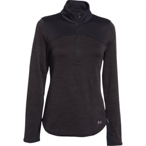 Under Armour Women ' S Ua Gamut 1 / 4 Zip - Asphalt Heather