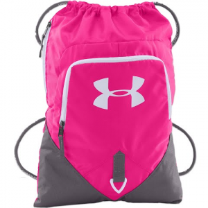 Under Armour Undeniable Sackpack - Tropic Pink / Graphite