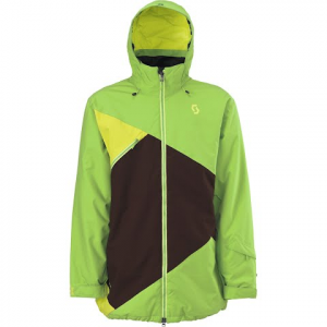 Scott Men ' S Bronxx Jacket - Greenflash / Sulpher