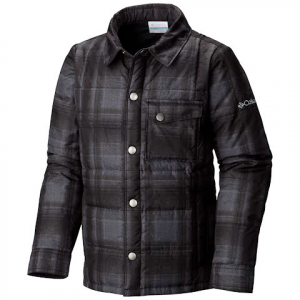 Columbia Youth Boy ' S Agent Avalanche Jacket - Black Plaid