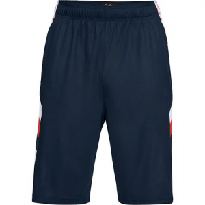 Under Armour Men ' S Ua Space The Floor Short - Academy / White