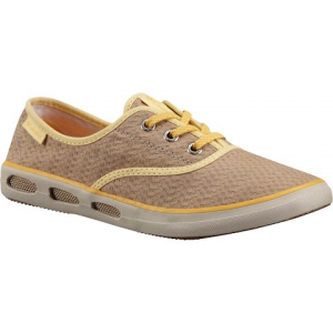 Columbia Women ' S Vulc N Vent Lace Canvas Ii Shoes - British Tan / Stinger