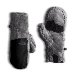 The North Face Women ' S Denali Insulated Mitt - Mid Grey / Tnf Black