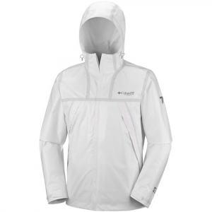 Columbia Men ' S Titanium Series Outdry Ex Eco Jacket - White