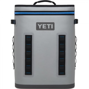 Yeti Coolers Hopper Backflip 24 Cooler - Fog Grey / Tahoe Blue