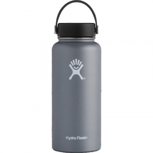 Hydro Flask 32oz Wide Mouth Flask - Graphite