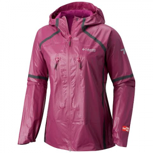 Columbia Women ' S Outdry Ex Featherweight Shell Jacket - Intense Violet