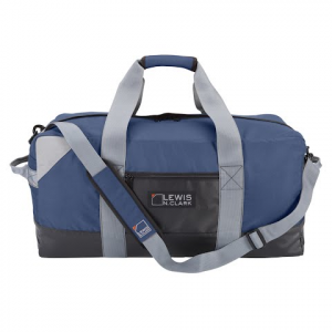 Lewis N . Clark Heavy Duty Duffel With Neoprene Gear Bag 24 Inch - Blue