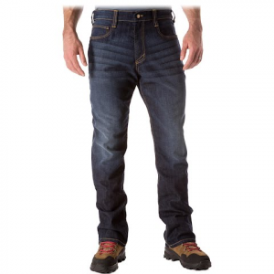 5 . 11 Tactical Defender - Flex Straight Jean - Dark Wash Indigo