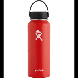 Hydro Flask 40oz Wide Mouth Flask - Lava