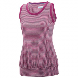 Columbia Women ' S 7 Day Sleeveless Top - Berry Jam