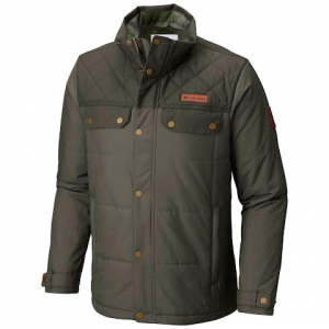 Columbia Men ' S Ridgestone Jacket - Peatmoss ( 215 )