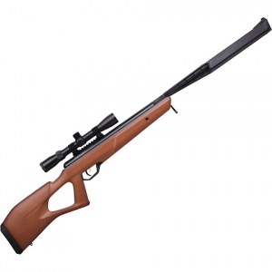 Crosman Trail Np Elite Stealth Wood (. 22 ) Air Rifle With 3 - 9x32mm Scope - Wood