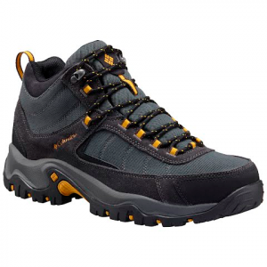 Columbia Men ' S Granite Ridge Mid Waterproof Hiking Shoe - Dark Grey