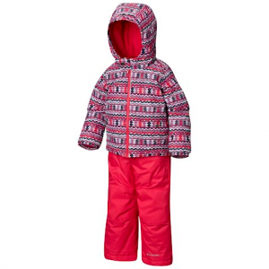 Columbia Toddler Frosty Slope Snow Set - Rosewater Zigzag Print