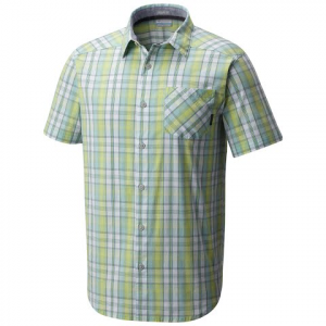 Columbia Men ' S Decoy Rock Ii Short Sleeve Shirt - Zest Plaid