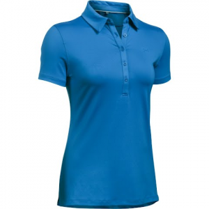 Under Armour Women ' S Ua Zinger Short Sleeve Polo - Mediterranean