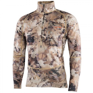 Sitka Gear Men ' S Grinder Half Zip - Optifade Waterfowl Marsh