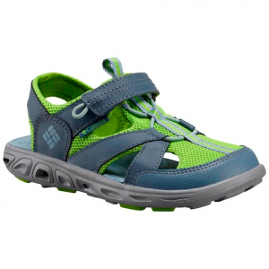 Columbia Youth Techsun Wave Sandals - Monument / Nuclear