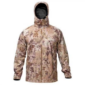 Kryptek Apparel Men ' S Poseidon Ii Rain Jacket Extended Sizes - Kryptek Highlander