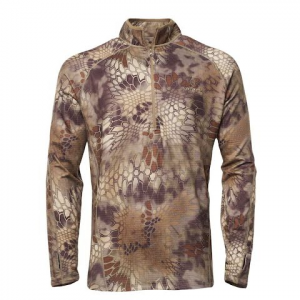 Kryptek Apparel Men ' S Cronos 1 / 2 Zip Jacket ( Extended Sizes ) - Kryptek Highlander