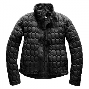 The North Face Women ' S Thermoball Crop Jacket - Tnf Black