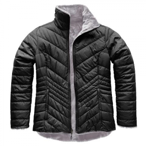 The North Face Women ' S Mossbud Insulated Reversible Jacket - Asphalt Grey