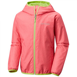 Columbia Youth Pixel Grabber Ii Jacket - Punch Pink Print