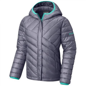 Columbia Girl ' S Toddler Powder Lite Puffer Jacket - Astral