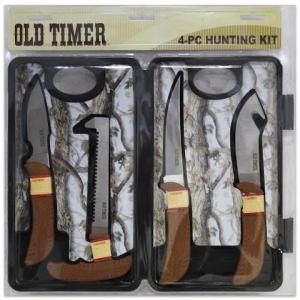 Schrade Knives Old Timer 4 - Piece Hunting Kit