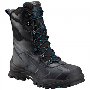 Columbia Men ' S Bugaboot Plus Iv Xtm Omni - Heat Boot - Black / Phoenix Blue