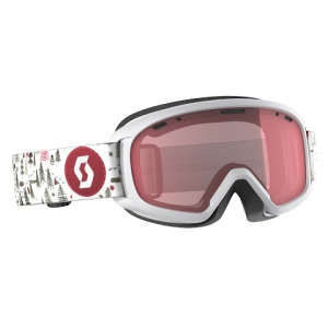 Scott Youth Jr Witty Snow Sports Goggle - White / Pink / Illuminator