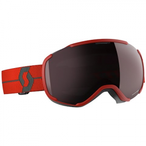 Scott Faze Ii Snow Sports Goggle - Red / Enhancer Silver Chrome
