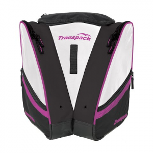 Transpack Compact Pro Boot Bag - White / Purple Electric