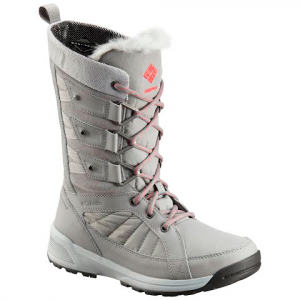Columbia Women ' S Meadows Omni - Heat 3d Boot - Monument / Sunset Red