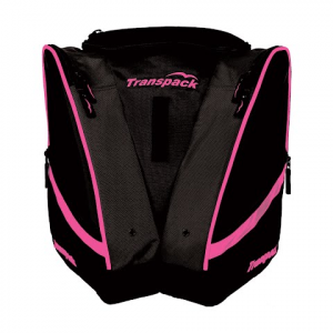 Transpack Compact Pro Boot Bag - Black / Pink Electric