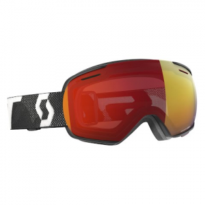 Scott Linx Snow Sports Goggle - White / Black / Enhancer Red Chrome