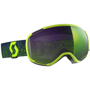 Scott Faze Ii Snow Sports Goggle - Yellow / Enhancer Green Chrome