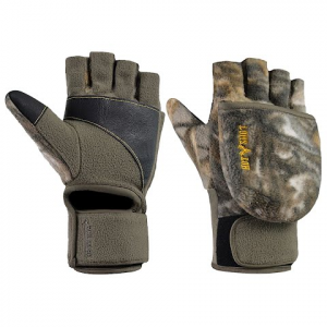 Hot Shot Men ' S Slingshot Fleece Pop Top Mitten – Realtree Xtra