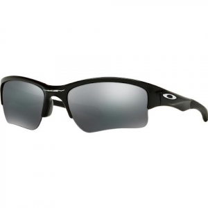 Oakley Youth Quarter Jacket Sunglasses ( Polished Black / Black Iridium )